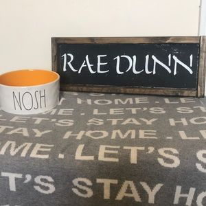 Rae Dunn Medium Size Dog Bowl